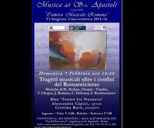 Musica ai Ss. Apostoli VI Stagione Concertistica 2015/2016