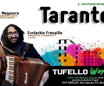 Concerti - Dario Mogavero - Eustachio Frongillo - Tarantella & CO. al Tufello Festival