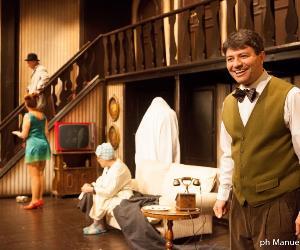 Spettacoli: Rumori fuori scena di nuovo al Teatro Vittoria