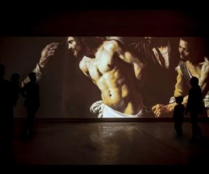Un'imponente video installazione ospitata dal Palazzo delle Esposizioni