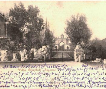 Villa Doria Pamphilj in 80 cartoline postali dei primi del '900