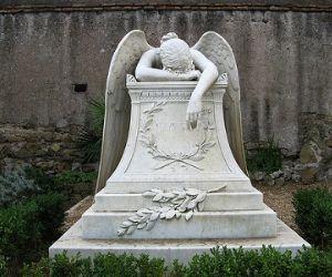 Il cimitero inglese a Testaccio
