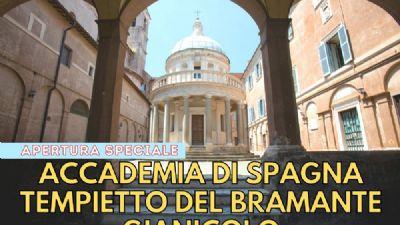 Visite guidate - Accademia di Spagna e Tempietto del Bramante