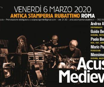 Concerti - Acustica Medievale