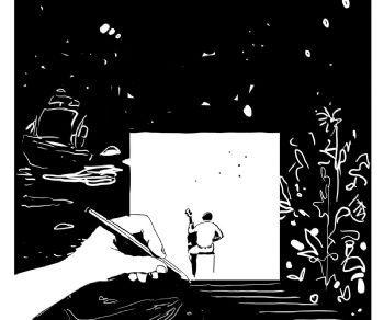 Il fumetto in diretta di François Olislaeger incontra la musica di Gaspar Claus