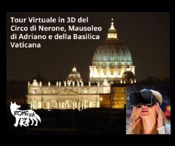 Visite guidate: Tour Virtuale dell'Ager Vaticano e della Basilica di San Pietro