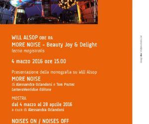 Altri eventi: Will Alsop a Roma con Lectio Magistralis presentata da Fuksas