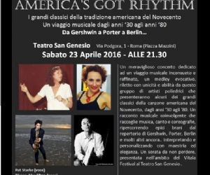 Un tributo musicale da Gershwin a Porter a Berlin e altri