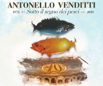 """Locandina: Antonello Venditti """"Sotto il segno dei pesci 2019"""""""