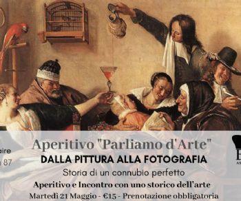 """Visite guidate - Aperitivo """"Parliamo d'arte"""". Dalla pittura alla fotografia"""