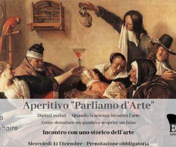 """Gallerie - Aperitivo """"Parliamo d'arte"""""""