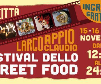 Sagre e degustazioni - Festival dello street food a Cinecittà