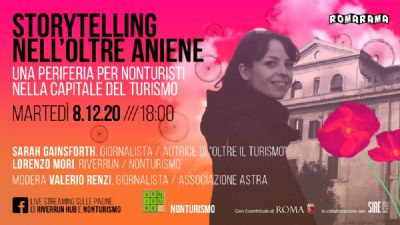 Appuntamenti virtuali: Storytelling oltre Aniene