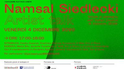 Appuntamenti virtuali - Progetto 'Crisalidi', di Namsal Siedlecki
