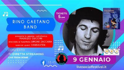 Appuntamenti virtuali: Omaggio a Rino Gaetano