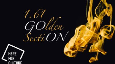 Appuntamenti virtuali: 1.61 Golden sectiON
