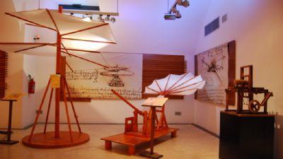 Appuntamenti virtuali: Leonardo da Vinci. Il Genio e le Invenzioni. Le Grandi Macchine interattive