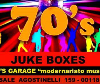 """Mostre - Juke boxes """"SETTANTA"""" semplicemente i migliori"""