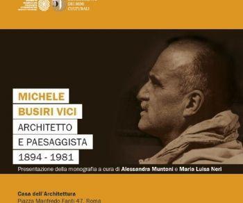 Libri - Michele Busiri Vici, architetto e paesaggista