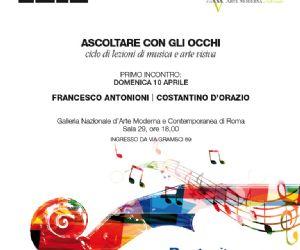 La musica moderna e contemporanea e il dialogo con le opere della collezione permanente