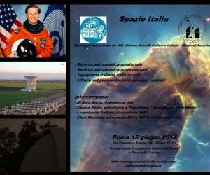 Convegno dedicato alla ricerca astronomica professioanale e amatoriale italiana