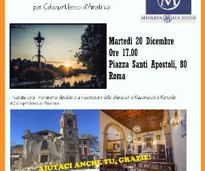 Altri eventi: Asta di beneficenza per la chiesa di Collegentilesco d'Amatrice