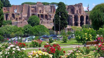 Attività - Riapre il Roseto Comunale di Roma