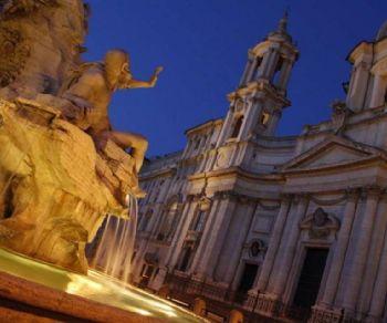 Passeggiata nei luoghi legata all'arte dei due grandi artisti del Barocco