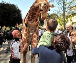 Bambini e famiglie: Al Bioparco il carnevale è…giraffoso!