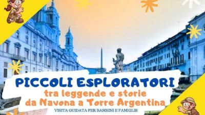 Visite guidate - Piccoli esploratori tra Navona e Torre Argentina