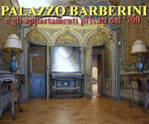 Visite guidate: Palazzo Barberini e gli appartamenti privati settecenteschi