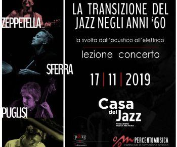 Concerti - La Transizione del Jazz negli anni '60