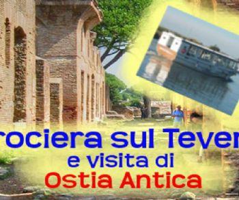 Visite guidate: Crociera sul Tevere in battello e visita di Ostia Antica