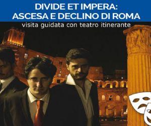 Visita guidata serale con teatro itinerante
