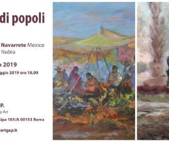 Gallerie - Fascino di popoli - narrazioni pittoriche
