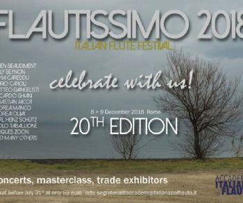 Italian flute festival. Ventesima edizione