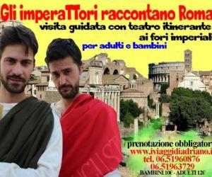 Visite guidate: Gli Imperatori raccontano Roma ai bambini... e ai grandi