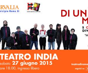 La band si esibisce Live al Teatro India