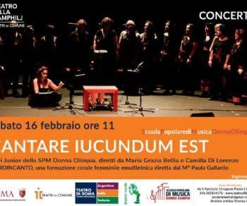 Concerti - Cantare Iucundum est