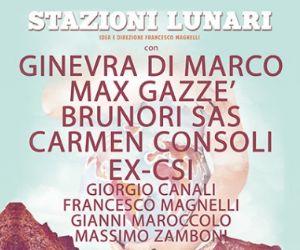 Carmen Consoli, Max Gazzè, ex-Csi, Brunori Sas e Ginevra Di Marco: tutti insieme sul palco