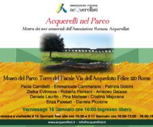 Mostra dei soci amatoriali dell'Associazione Romana Acquarellisti