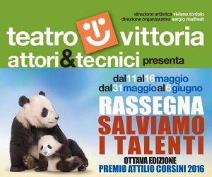 Il Teatro Vittoria ospiterà l'ottava edizione della rassegna