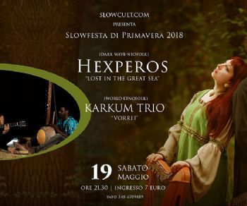Concerti - HEXPEROS IN CONCERTO AL WISHLIST + KARTUM TRIO