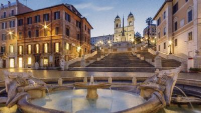 Visite guidate - Le Fontane di Roma al tramonto