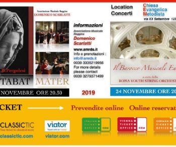 Concerti - Stabat Mater di Pergolesi e Barocco Europeo