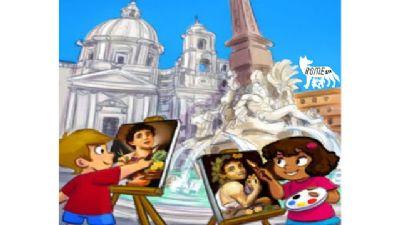Bambini e famiglie: A spasso con Bernini, Borromini e Caravaggio sulle ali del Barocco