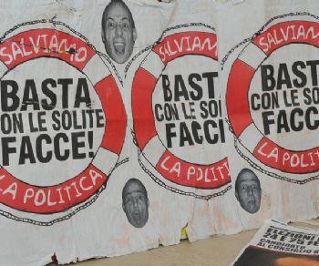 Locandina: M.E.R.d.A. Manifesti Elettorali Rettificati da Asporto