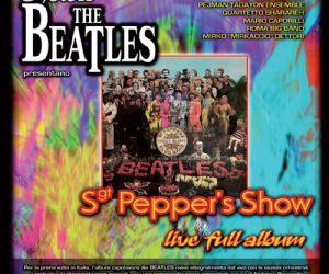 In prima assoluta nazionale, il nuovissimo spettacolo dedicato ai Beatles
