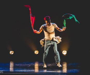Spettacoli - Coreografia e danza di Rochdi Belgasmi alla Curia Iulia