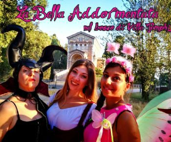 Locandina evento: La Bella Addormentata nel Bosco di Villa Pamphilj